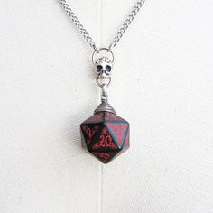Ancestral Forge Dungeons and Dragons D20 Necklace by Mortivoreium