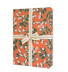 Mistletoe Set of 3 Rolled Wrapping Sheets