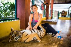 tiger kingdom in chiang mai - a must visit while I'm there