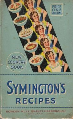 Symingtons-Recipes-New-Cookery-Book-Acceptable-Hardcover
