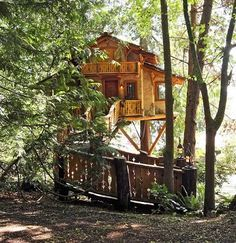 One-of-a-kind tree houses that really seem like home    TreeHouse Workshop of Seattle builds 10 to 15 tree houses a year, about half locally and the rest across the country. This 500-square-foot tree house near Poulsbo was built as a studio and getaway space.