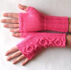 Mittens   Fingerless Gloves   Knitting Pattern