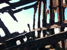 inside a shipwreck