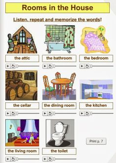 English teacher: The House