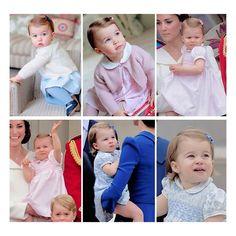 Princess Charlotte's 2016
