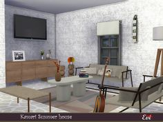 evi's Sims 4 Downloads Sims Community, House Interiors, Sims 4, Improve Yourself, Content, Home Decor, Decoration Home, Room Decor, Home Interior Design