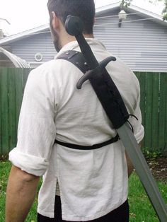 sword sheath on back - Google Search