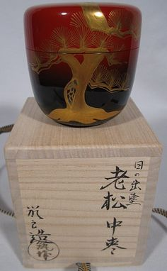Tea caddy oimatsu ancient pine ( Natsume and Chaire) #159041