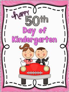 The Fiftieth Day of School? We have so much fun in Kindergarten and the Fiftieth Day was no exception! Kindergarten Freebies, Kindergarten Activities, Learning Activities, Kindergarten Classroom, Winter Activities, Preschool, 100 Days Of School, School Fun, Back To School