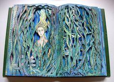Kelp Maiden Altered Book