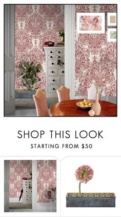 """Untitled #7737"" by ana-angela ❤ liked on Polyvore featuring interior, interiors, interior design, home, home decor, interior decorating and Graham & Brown"