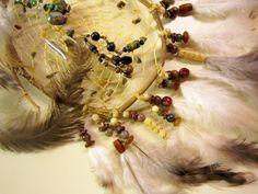 Horse Dancer's Handmade Fetish Bear Dream Catcher by jungleeyejoe on Etsy