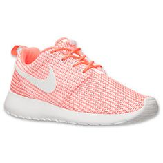 Women's Nike Roshe Run Casual Shoes // not normally a pink person, but I love these