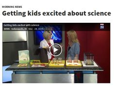 Gummy worm science on Indiana Fox 59 morning news