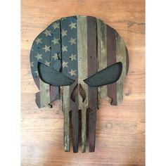 Patriotic Punisher Mask