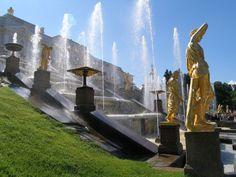 Peterhof Fountains, St Petersburg, Russia