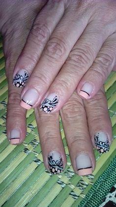 Arabescos Nails, Beauty, Arabesque, Finger Nails, Ongles, Beauty Illustration, Nail, Nail Manicure