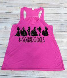 Squad Goals Disney Tank Disney Family Shirts by YouNameItMonogram