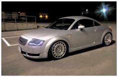 My car grey Audi tt 8n mk1 Rotiform