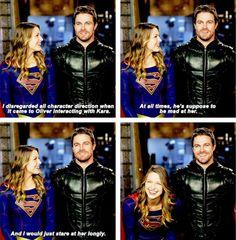 Melissa & Stephen - EW Cover: CW superheroes crossover revealed #Arrow #Supergirl #TheFlash #LegendsofTomorrow