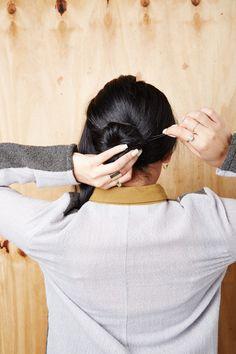 Easy, pretty hair DIYs for medium-length locks