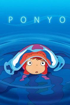 Ponyo de Studio Ghibli. Hermoso, creativo, dulce, divertido y simplemente extraño. Me encantan las películas de Ghibli.