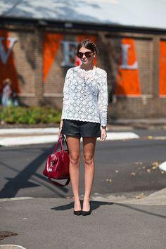 Australia Fashion Week Spring 2013: Street Style