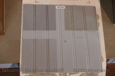 SALVIA - cool grey- chalky matte finish.  topped with glazes and tinted waxes to show options.... Adheres to nearly any surface, covers amazing, little to no brush marks, does not require a wax or topcoat.   Fully stocked store (Metro Detroit) and online shop.fabfinisher.com