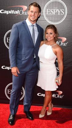 @espn #espys with this babe @shawnjohnson thanks to @Zegna for the awesome suit!