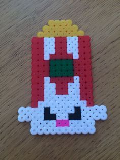 shopkins perler bead patterns - Google Search Melty Bead Patterns, Pearler Bead Patterns, Perler Patterns, Beading Patterns, Perler Bead Designs, Hama Beads Design, Fete Shopkins, Beading For Kids, Peler Beads