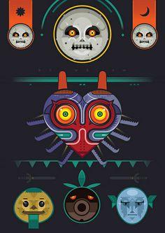 Majora's Mask, via Flickr. by BenBoothman