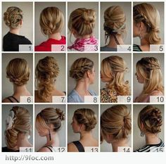 Party hairstyles tutorial, party hair styles for a party