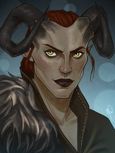 Adaar by Cocotingo on Tumblr. Why do you dye your eyebrows too, woman?