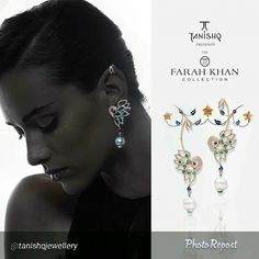 "One of my favourites in #theFarahKhancollection  for Tanishq  By @tanishqjewellery ""Graceful, elegant and glamorous, the #TanishqxFarahKhan Collection is a range of fine jewelry inspired by Persian art and architecture."" via @PhotoRepost_app"