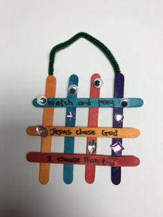 Lesson 2 Watch and Pray Garden of Gethsemane Gate craft