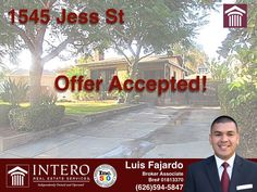 OFFER ACCEPTED! Congratulations to my clients for getting their offer accepted now on to a successful closing... Wondering if you qualify for a home? Click on the link below to calculate your payment http://bit.ly2d26uek or give me a call to start on your pre-approval! #offeraccepted #ontoclosing #callme #icanhelp #6265945847 #fajardohomesales #interosocal #interodowney #clickonthelink  http://bit.ly/2d26uek