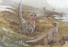 Trinisaura santamartaensis by tuomaskoivurinne.deviantart.com on @DeviantArt