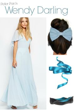 wendy darling peter pan halloween costume
