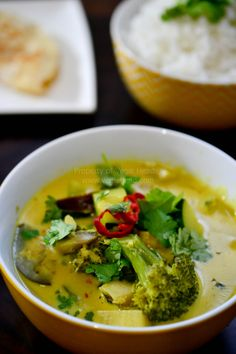 Vegie Head » Thai Red Curry…