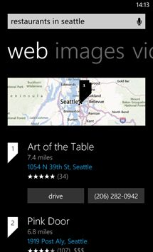 Bing search on Windows Phone 8 is getting upgraded with a new look and features.