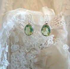 Beautiful Green Quartz Earrings & perfect for the holidays. Green Quartz, Crochet Earrings, Magic, Drop Earrings, Holidays, Beautiful, Jewelry, Jewellery Making, Holiday