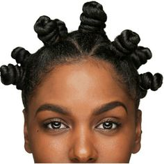 the best bantu knot. ever.