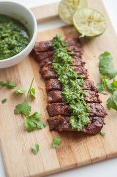 Mouthwatering Cilantro Lime Skirt Steak with Chimichurri | Tasty Kitchen: A Happy Recipe Community!