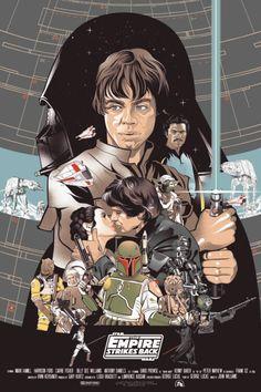 Star wars fan poster.