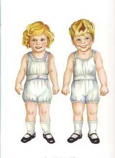 Twin tots of the twenties - Pia Larsson - Picasa Albums Web