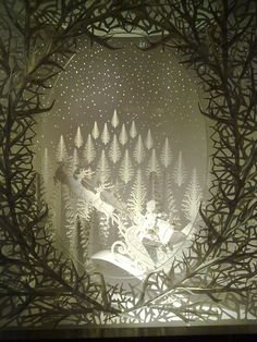Fairy tale castle made of paper for a window display at Selfridges department store, London. Description from pinterest.com. I searched for this on bing.com/images
