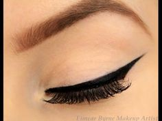How To:perfect Winged Eyeliner! #Beauty #Musely #Tip