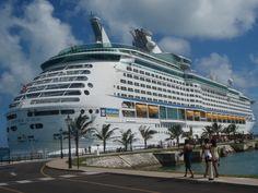 Royal Caribbean Explorer of the Seas in Kings Wharf, Bermuda