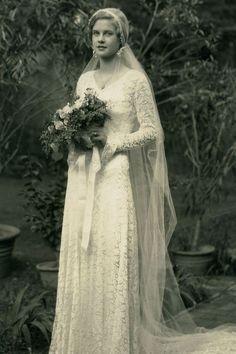 1931 bride Mary