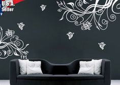 Wall Decor Art Removable Mural Vinyl Decal Sticker by jjdecals, $23.99